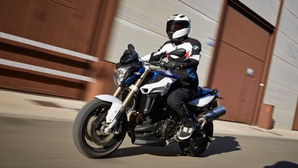 The new BMW F 800 R (2)